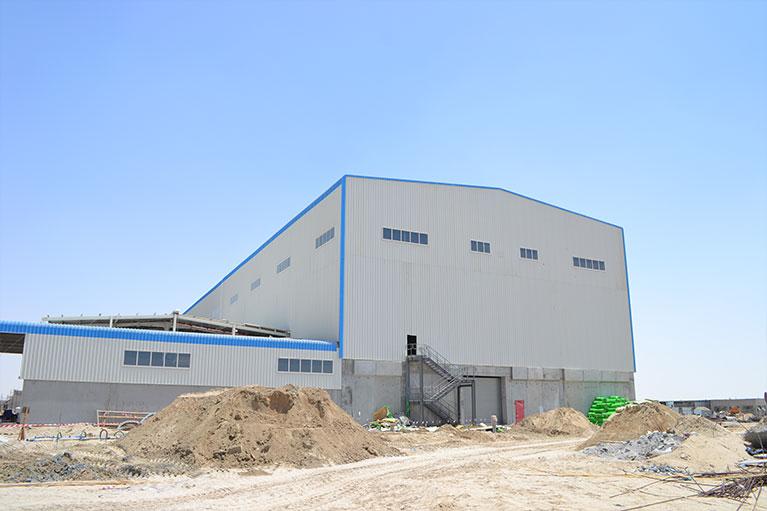 Al Nakheel Paper Mill Factory - Phase 1 - BuildUP MEP